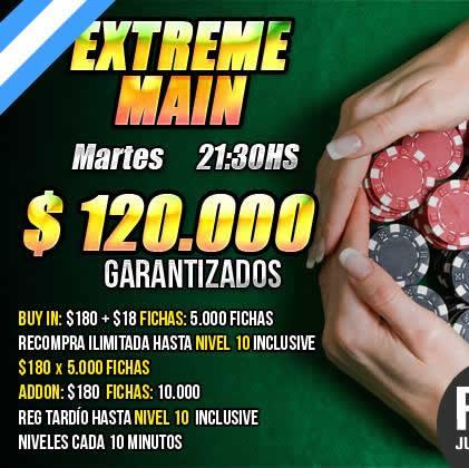 ¡ $120.000 garantizados los Martes en Pokerlogia !