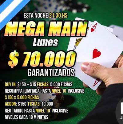 ¡No te pierdas los Lunes de Acción con $70.000 asegurados en Pokerlogia!